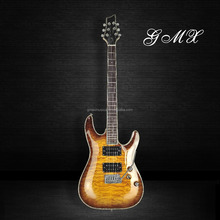 Inlay handmade electric guitars made in china