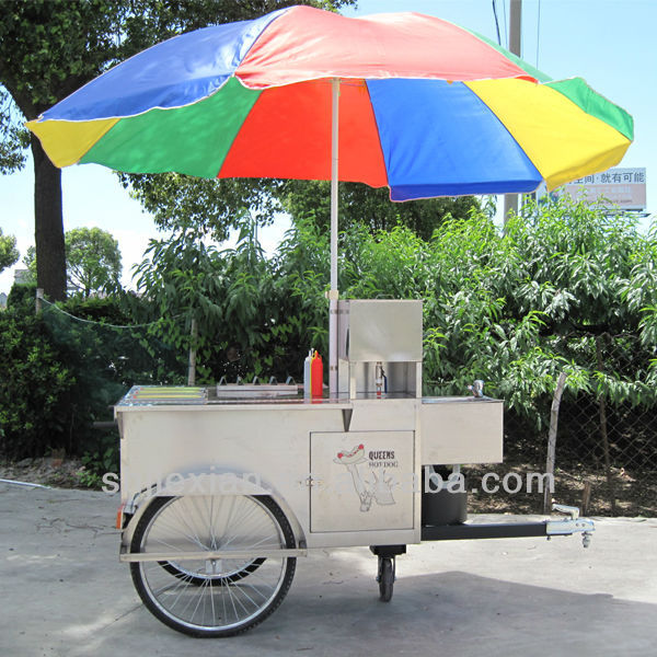 2017 hot selling Jiexian JX-HS120B food tricycle/hot dog tricycle/ice-cream tricycle FACTORY PRICE