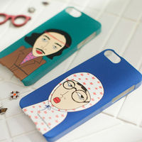 Guti Bati_Happymori Design Phone Cover Hard Case for Apple iPhone 5 (Made in Korea)
