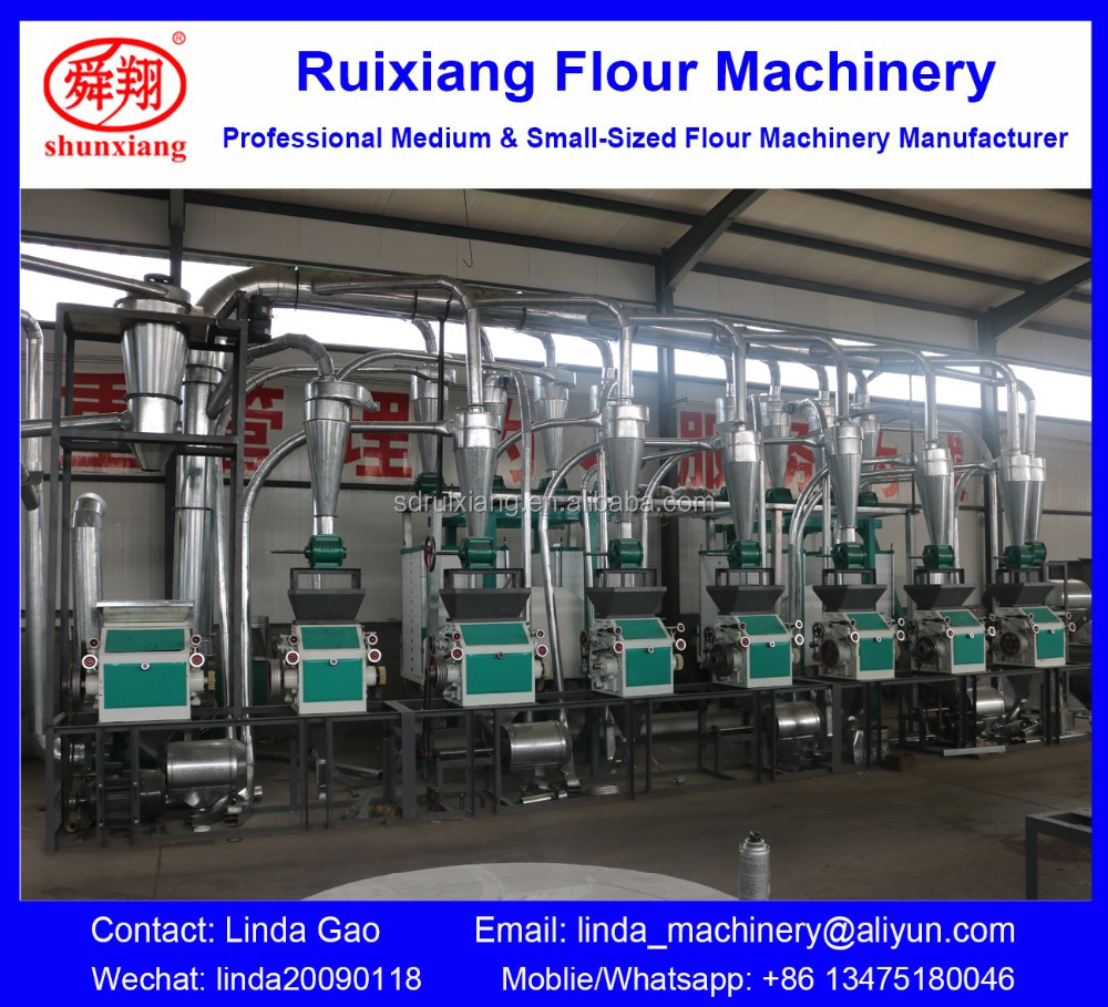 Maida flour mill processing plant, Atta flour grinding production line