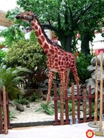 2015 Life Size Animatronic Animal Giraffe For Sale
