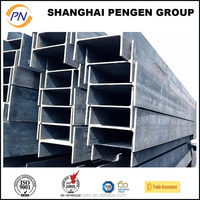 High quality fabricate H beam steel hollow section beams