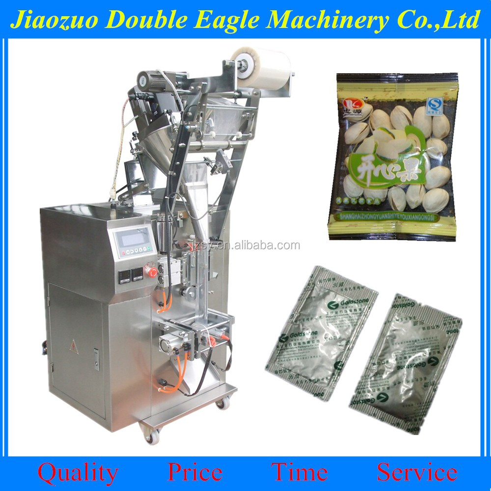 automatic cashew nut granular food packing machine