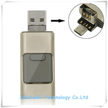 OTG USB Flash Drive,3 in 1 Flash Drive,Flash Drive USB for Sale