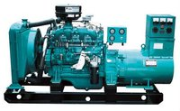 Popular diesel generator set with silencer