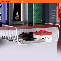 white coating custom iron closet wire shelving