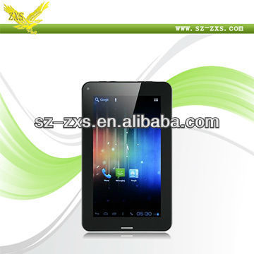 Zhixingsheng 2013 New and hot sales! Internal 3G function A13 1.5Ghz cpu 7 inch tablet pc sim card slot with android 4.0 A13-747