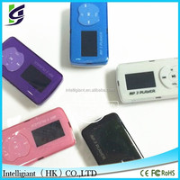 Fancy mini mp3 digital player with 1.5 inch screen and outside audio