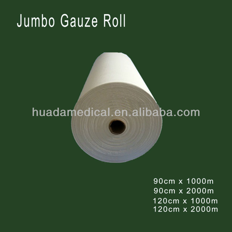 "gauze roll 36"" x 100 yards - 4ply"