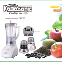 kitchen cooking 3 IN 1 BLENDER WITH two GRINDER MILLs