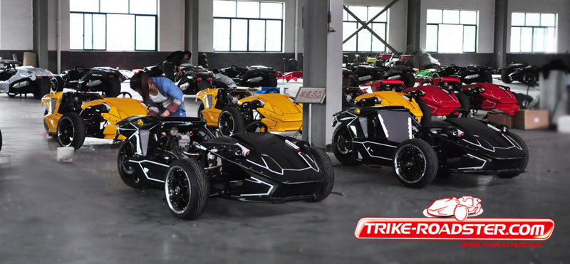2016 Sunny Trike Roadster 3 Wheels Racing Quad 250cc Water Cooled Engine EPA certificate ZTR TR2501 on Sale