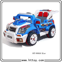 HT-99850 Children rc car battery control and remote control in 1 with double seats