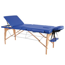 wooden folding sex massage table