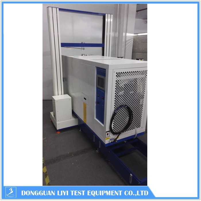Microcomputer control high low temperature tensile tester
