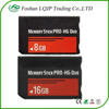 LQJP for PSP Memory Stick Pro Duo 16GB 8GB MEMORY STICK MS PRO-HG DUO ADPT adapter card FOR SONY PSP