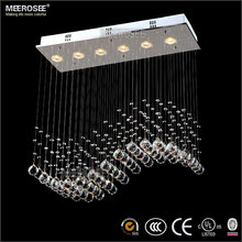 Square Crystal Ball Ceiling Light, Art Deco Light Fixtures & Lamp MD8495 L5