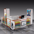 Most popular mobile phone display booth portable mobile phone shop furniture