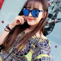 fashion popular sunglasses for girl pc frame vintage classic lunette de soleil femme
