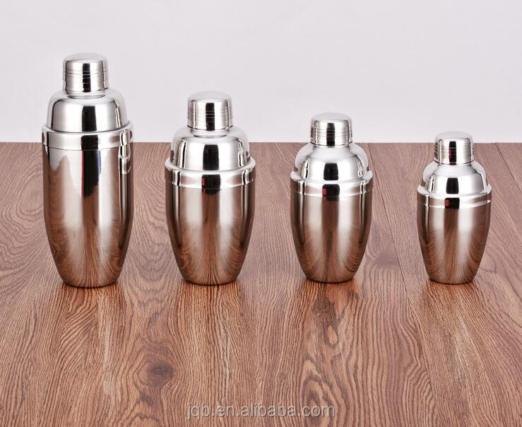 100% Original Stainless steel bar accessories cocktail shaker set