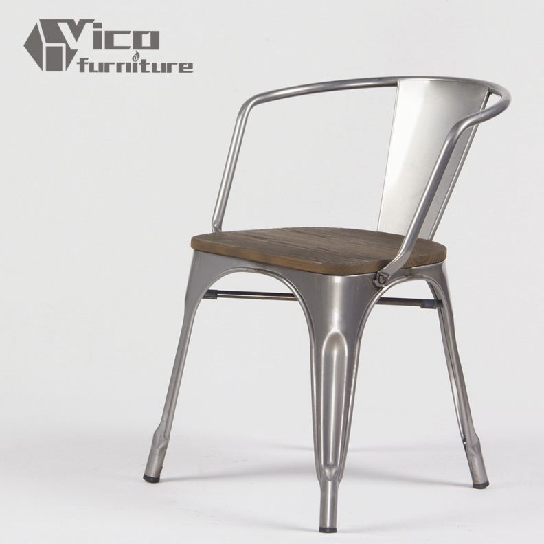 best price popular iron steel famous design rstaurant living room outdoor metal table and chairs
