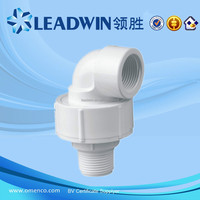 High Quality Plastic Agriculture Water UPVC Fittings for BS Thread Female & Male Union Elbow