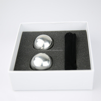 Stainless Steel Ball Shape Ice Cubes,Ice Ball Of Steel,Ball Ice rocks for chilling all drinks