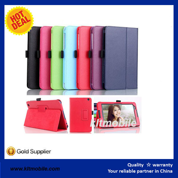 8'' inch case cover for tablet pc with stand cover case for lenovo a5500