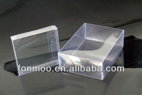 Reasonable price wholesale Clear Plastic business card Boxes
