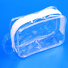 Travel Transparent Waterproof Women Toiletry Kit Men PVC Zipper cosmetic Bag Large Capacity makeup Storage Pouch for Lady Male