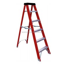Fiberglass single side A shape ladder