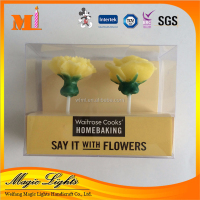 Beautiful Flower Shaped Candle for Sale