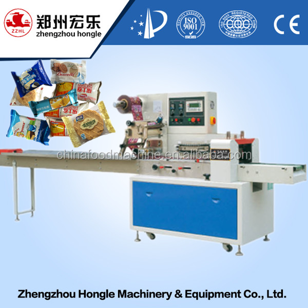 Automatic Pillow Type Biscuit Dry Food Packaging Machine