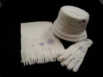 Hat, Scarf, Glove