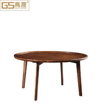 Modern restaurant round tables and chairs
