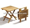 HE-070,Outdoor Wooden Folding Square Garden Table,Garden Wooden Folding Dinning Table