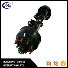 CHINA Heavy Duty Semi Trailer Axle and Parts Selling