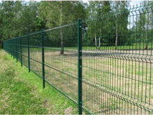 garden building pvc coated welded wire mesh fence panel