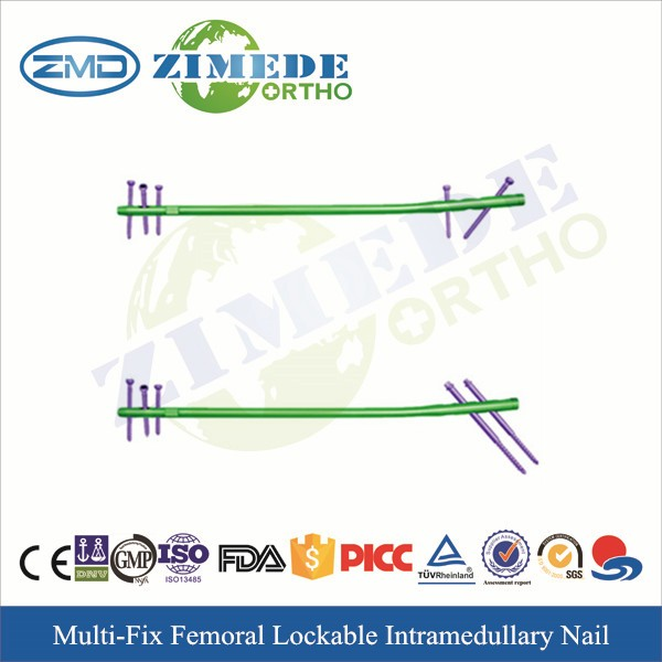 Multi function femoral intramedullary hospital osteosynthesis nail