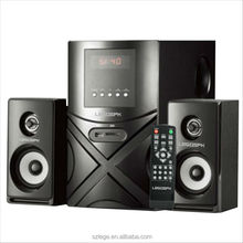 premium sound and deep bass 2.1 ch multimedia spekaer with bluetooth