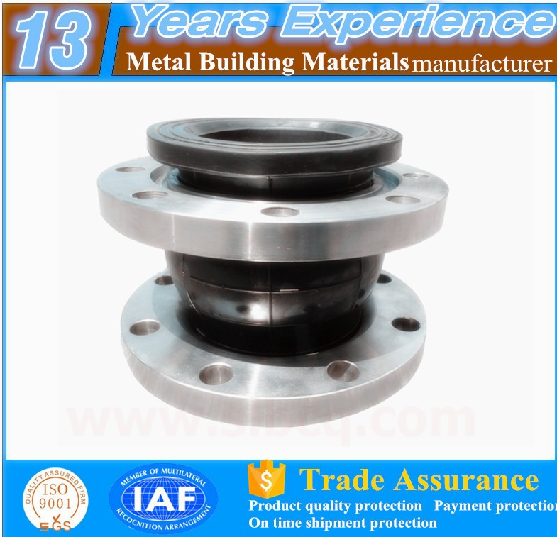 made in china stainless steel concrete bridge steam pipe expansion joints