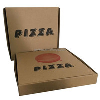 wholesale Custom flexo printing pizza delivery boxes