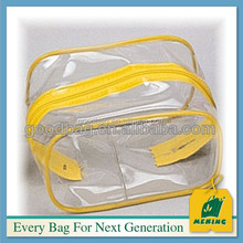 clear vinyl pvc zipper blanket shopping beach bag