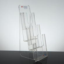 Acrylic Brochure/Leaflet/File Display Stand Holder With All Size