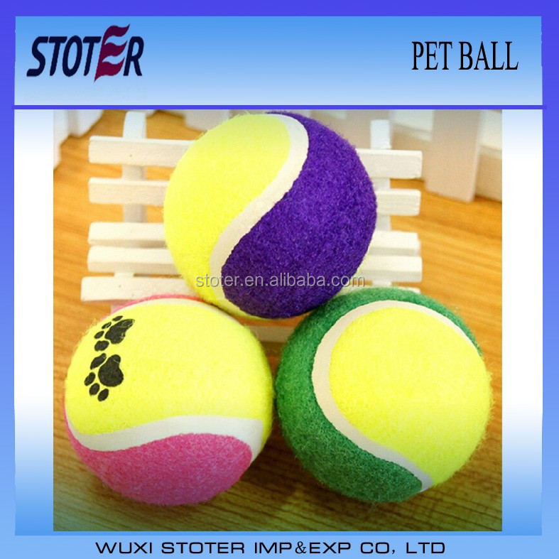 tennis pet ball
