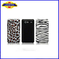 Leopard ,Zebra Pattern Hard Case for Samsung Galaxy S Advance i9070,for Samsung Galaxy S Advance cellphone case cover
