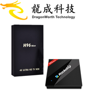 2017 New design H96 MAX RK3399 2G 16G android stick tv wholesale online ott 6.0 box