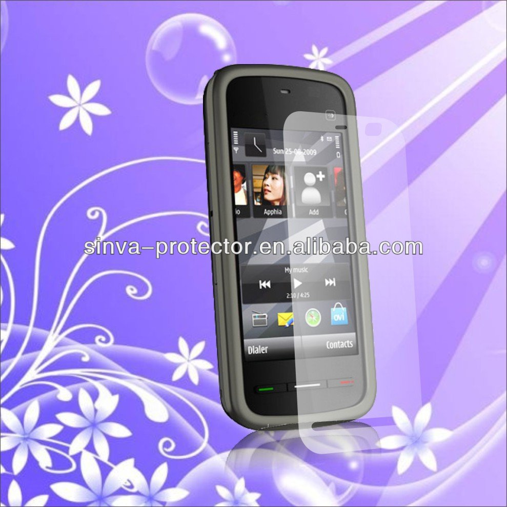 Manufacture price anti-glare screen protector for nokia c5