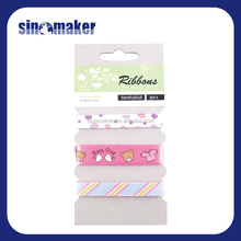 hot sale lovely carton wholesale character grosgrain ribbon for DIY