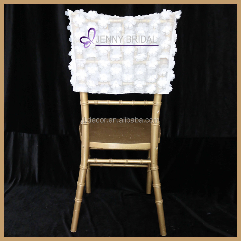 C306A wedding flowers half back chair cap covers