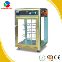 New Type Electric Food Display Warmer for Sale/Rotary Pizza Warmer